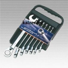 Combination spanners DIN3113-A SAE set 16 pcs